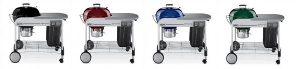 Weber Performer Platinum Grill Colors