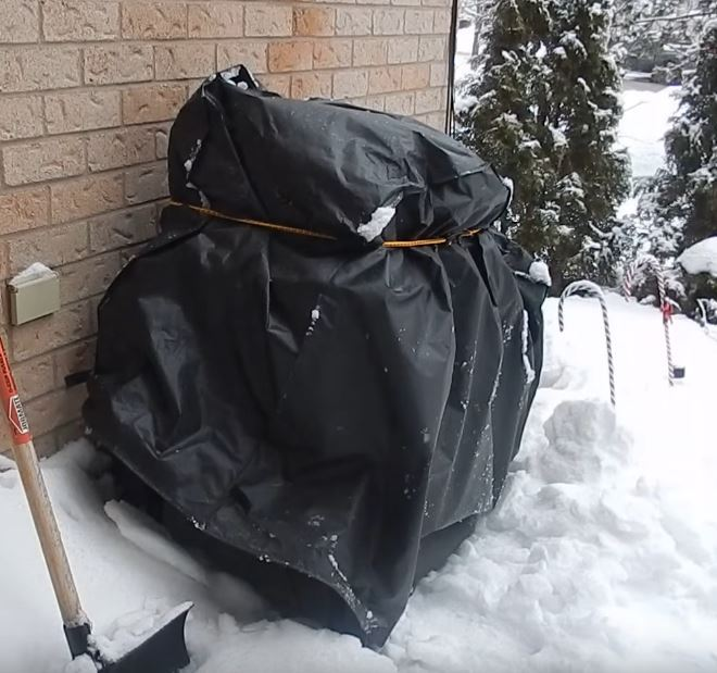 How To Keep Grill Cover From Blowing Off On A Windy Day