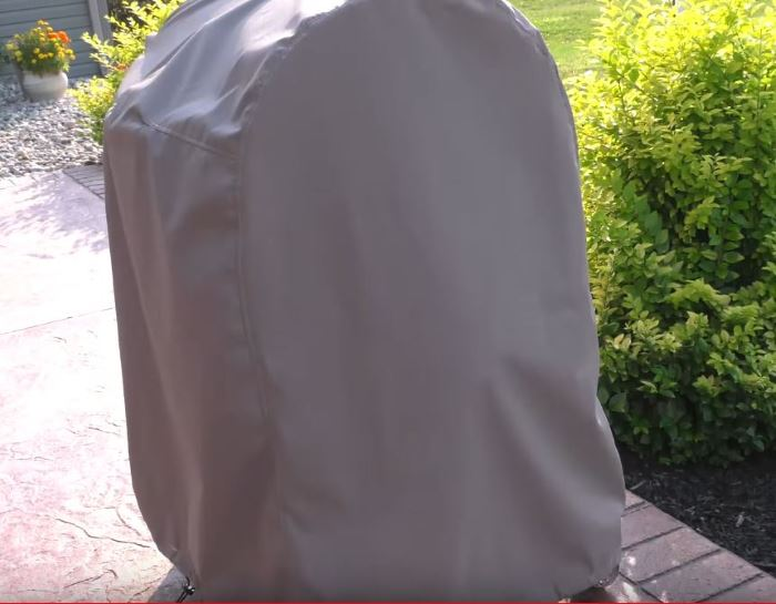 How To Make A DIY Grill Cover Out Of A Tarp