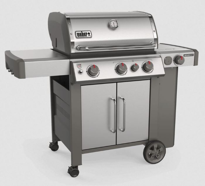 weber genesis II s-335 stainless steel model