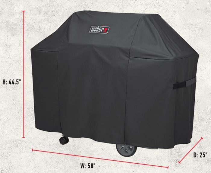 Weber Genesis II Grill Cover Dimensions