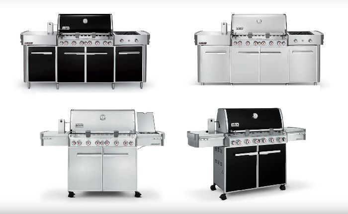 four weber summit grills